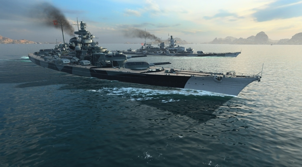 World of Warships Scharnhorst