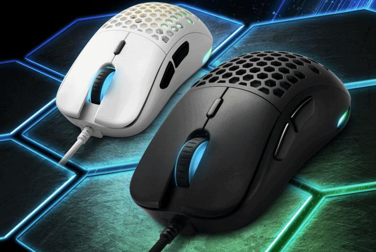 Sharkoon-Light-180-Ultra-leichte-Gaming-Maus-mit-hochpr-zisem-Sensor